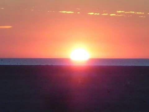 Zonsondergang in Renesse