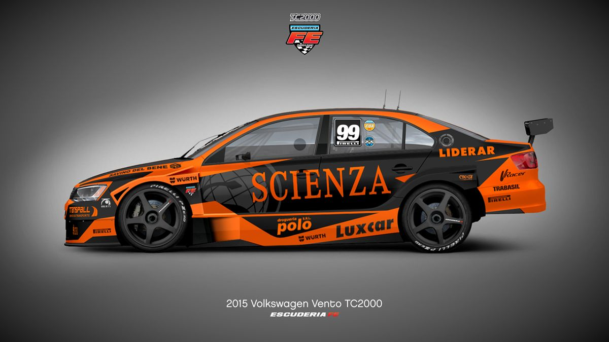 2015 Volkswagen Vento Tc2000 Fe Argentina On Behance Car Wrap Design Volkswagen Drift Cars [ 675 x 1200 Pixel ]