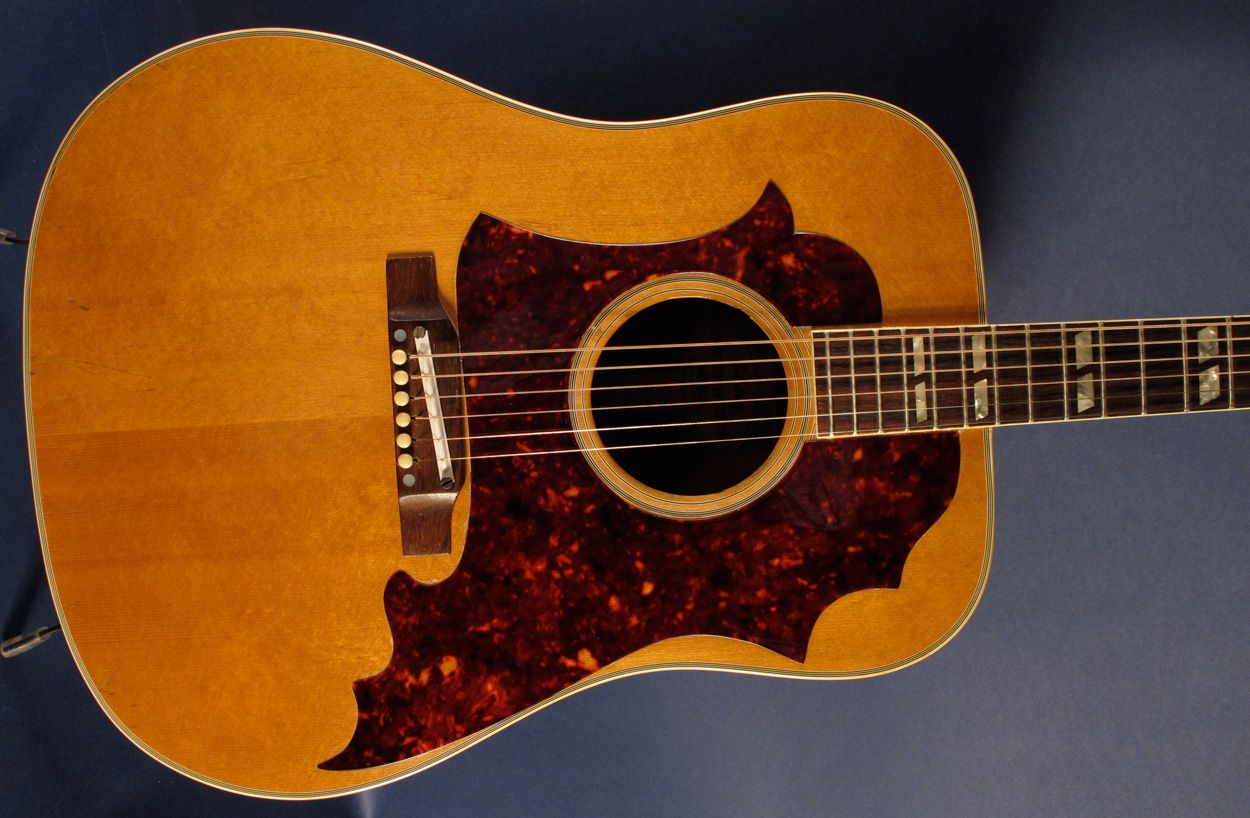 Used And Vintage Gibson Hummingbird Dove Country Western Acoustic Guitars For Sale