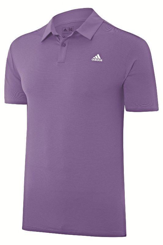 adidas purple polo shirt