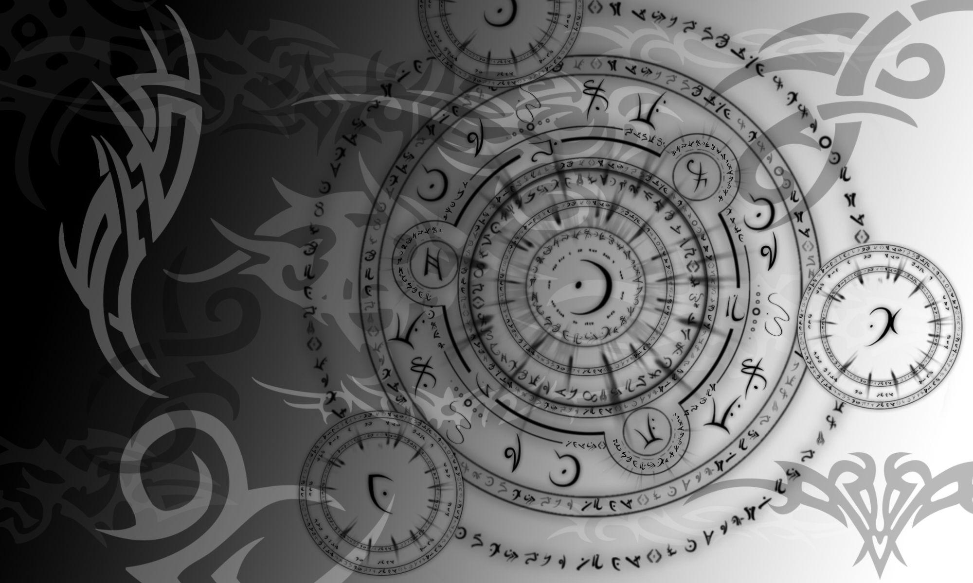 Black magic symbols wallpapers download arabesque black and white black magic symbols wallpapers download arabesque black and white circle magic symbol biocorpaavc Images