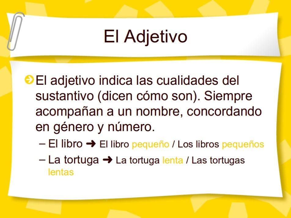 13 Actividades Interactivas Sobre El Adjetivo Material De Aprendizaje Adjetivos Adjetivos Actividades Adjetivo