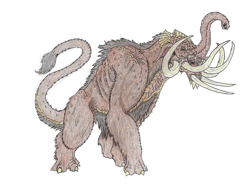 Monsterverse Mammoth By Beastrider9 Beast Creature