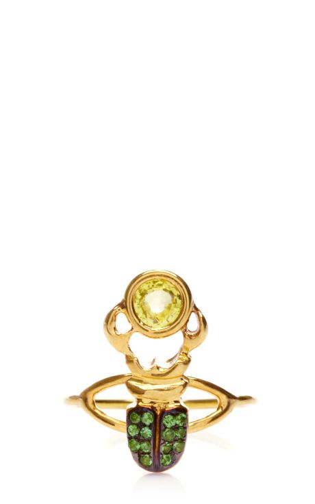 Kephris Yellow Sapphire Ring by Daniela Villegas