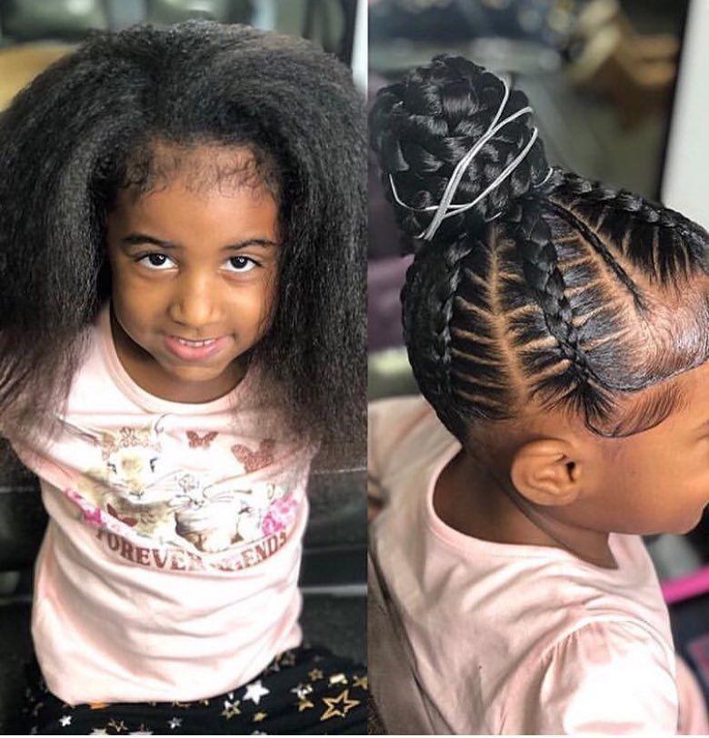 20 Kids Hair Braiding Styles Hairstyles Fashion Little Girl