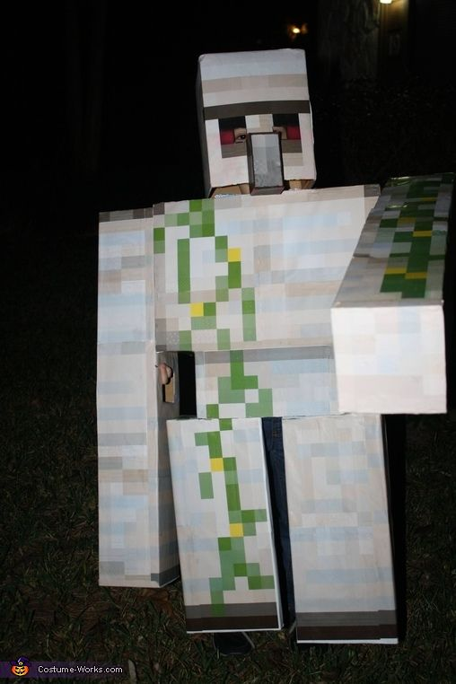 minecraft iron golem halloween costume contest at costume halloween pinterest. Black Bedroom Furniture Sets. Home Design Ideas