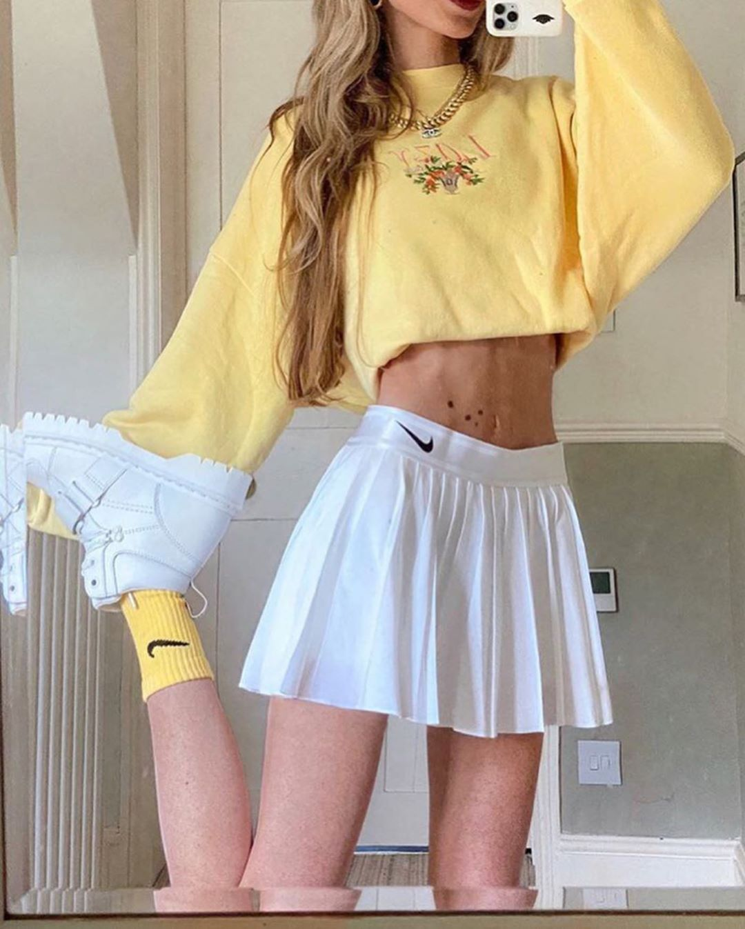 Offer Of Destocking 2019 Girly Grunge Aesthetic Outfits In 2020 Fashion Inspo Outfits Tennis Skirt Outfit Aesthetic Clothes
