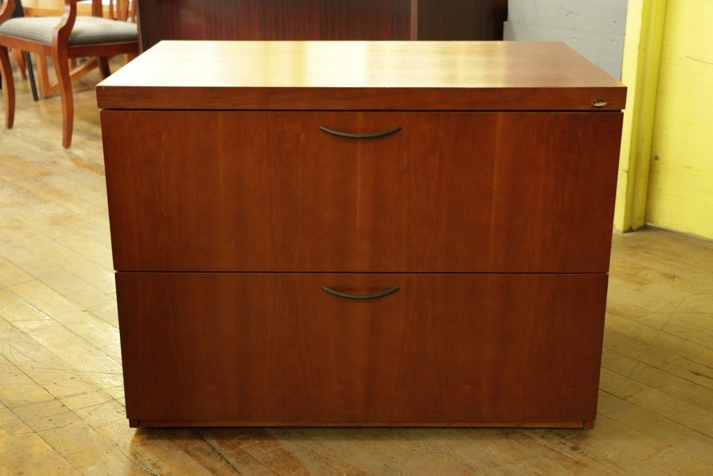 Cherry Wood Lateral File Cabinet Lateral File Cabinet Filing Cabinet Drawer Filing Cabinet