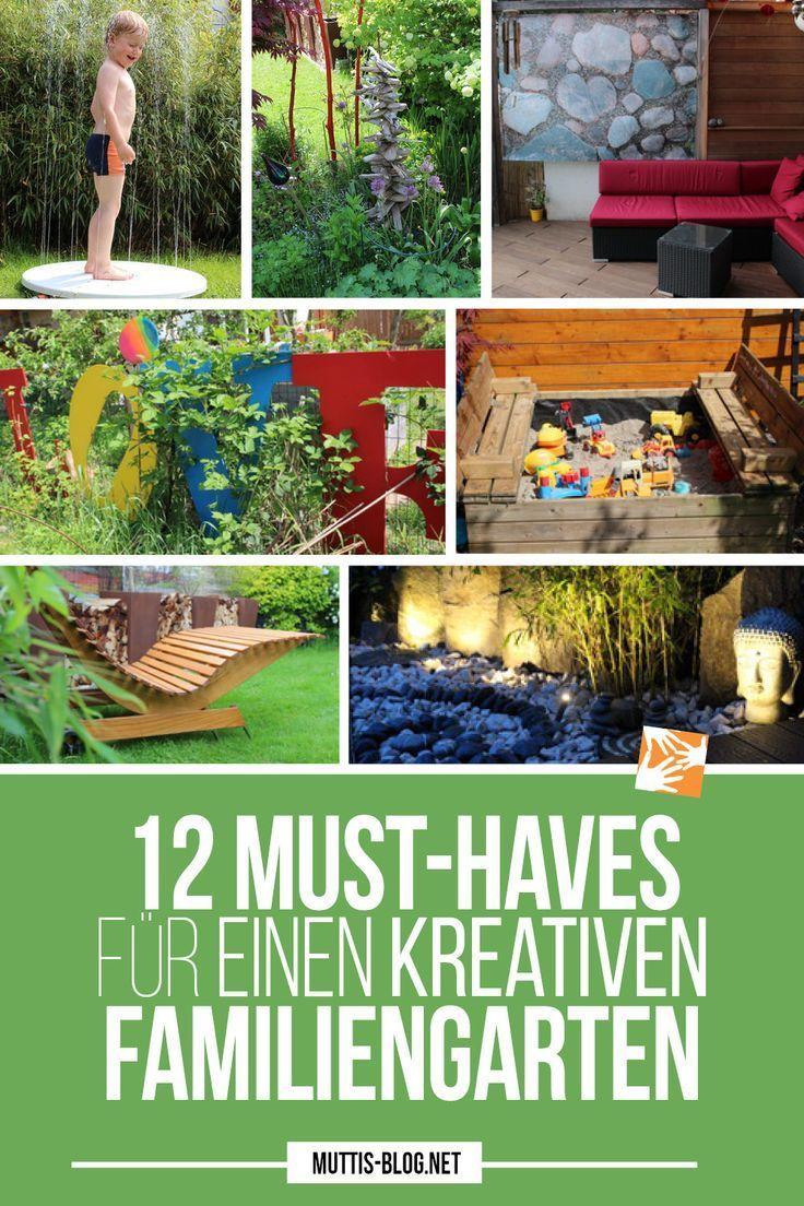 Unser kreativer Familiengarten auf kleinstem Raum (mit
