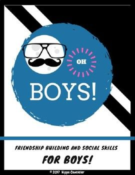 Grade 5-7 Friendship building and Social Skills group designed with boys in mind