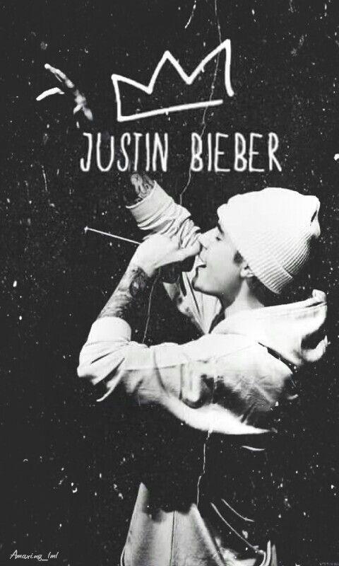 Justin Bieber King Blackandwhite Fondo De Pantalla Justin Bieber Cantores Fotos Do Justin Bieber