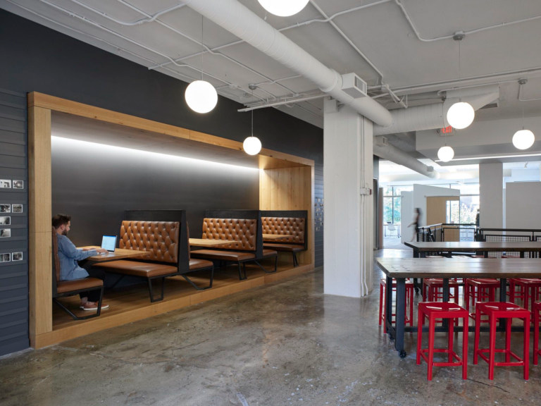Vocon Headquarters Renovation Cleveland Office Snapshots With