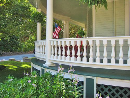 Best Home Front Porch Spindles Railing Balusters Wood Rail 400 x 300
