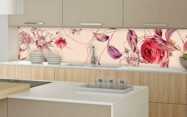 35 Küchenrückwände aus Glas - opulenter Spritzschutz für die Küche - spritzschutz küche glas