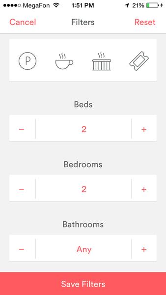 Airbnb Ui Design Pinterest App Design Mobile App Design And