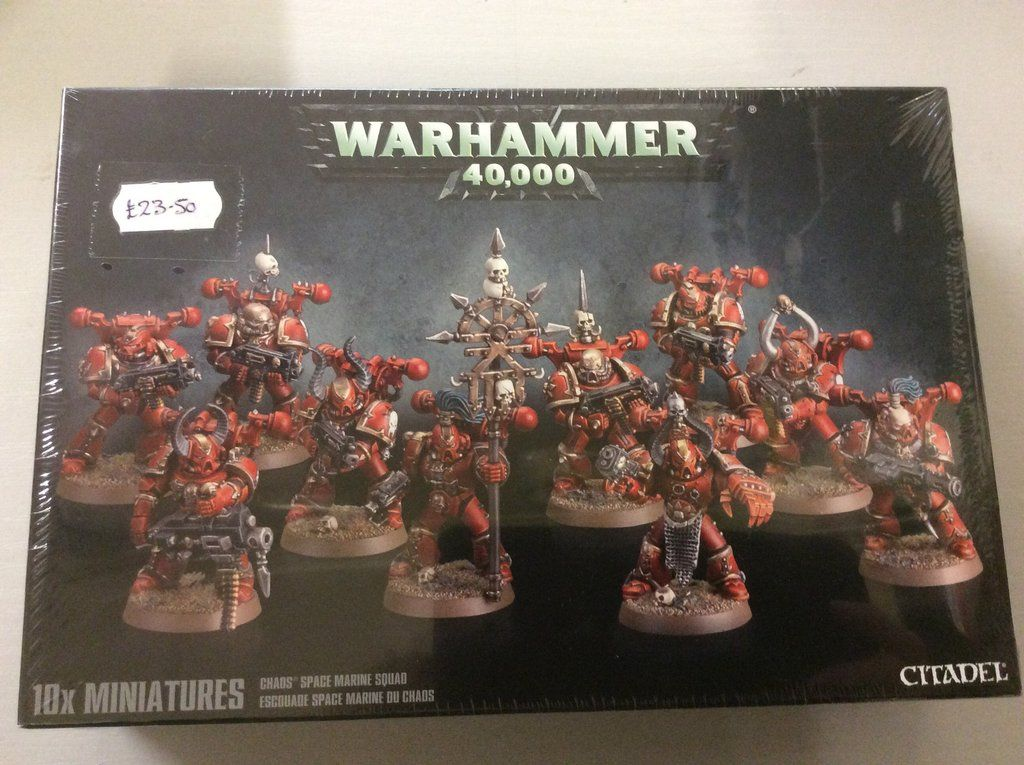 Chaos Space Marine Squad Space marine, Squad, Space