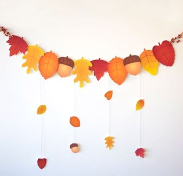 Decorazioni autunnali kindergarten work pinterest - Decorazioni autunnali per finestre ...