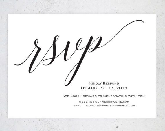 RSVP postcards templates, Wedding rsvp cards, rsvp online, wedding