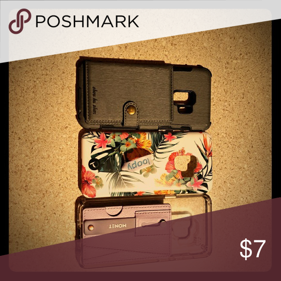 buy online e61a9 a2ed1 SAMSUNG GALAXY S9 cases Three Samsung S9 phone case, one is s loopy ...