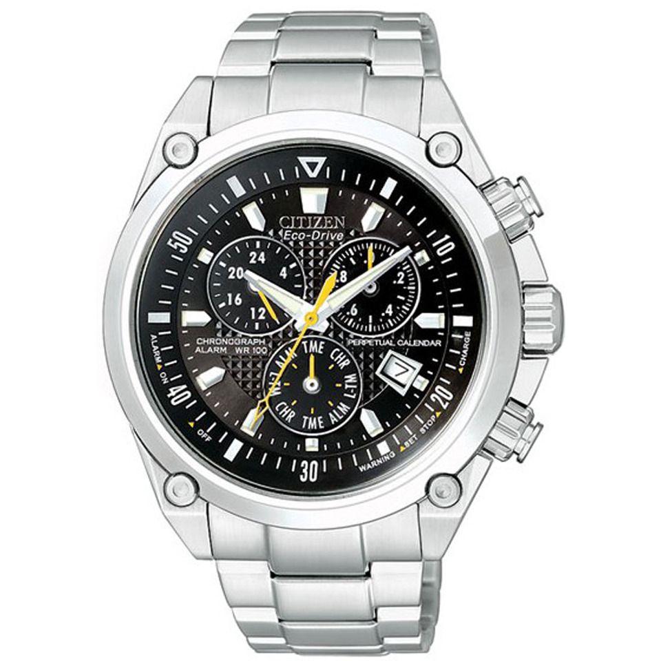 citizen men s eco drive chronograph watch in black casual man rh pinterest  co uk citizen eco drive watch instruction manual citizen eco drive watch ...