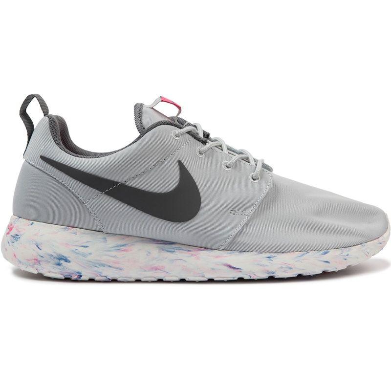 76fbe79bdbd2 Nike Roshe Run Marble Pack Platinum Grey Blue