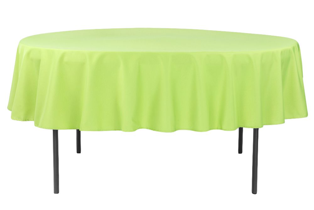Simple Plastic Table Cloth From Dollar Store Made This Plain