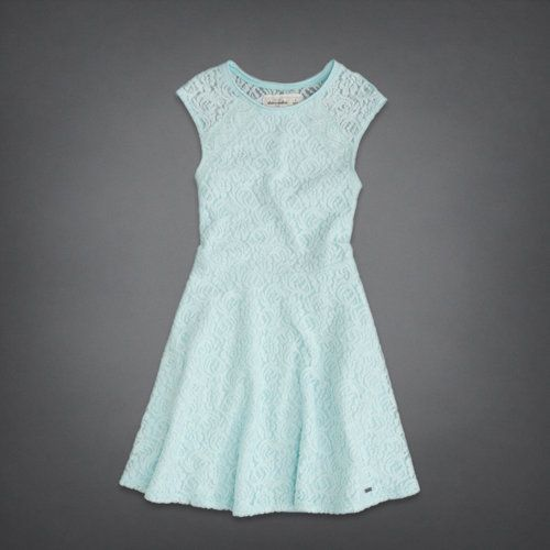 322389d50 lace skater dress - abercrombie kids white version | Abercrombie ...