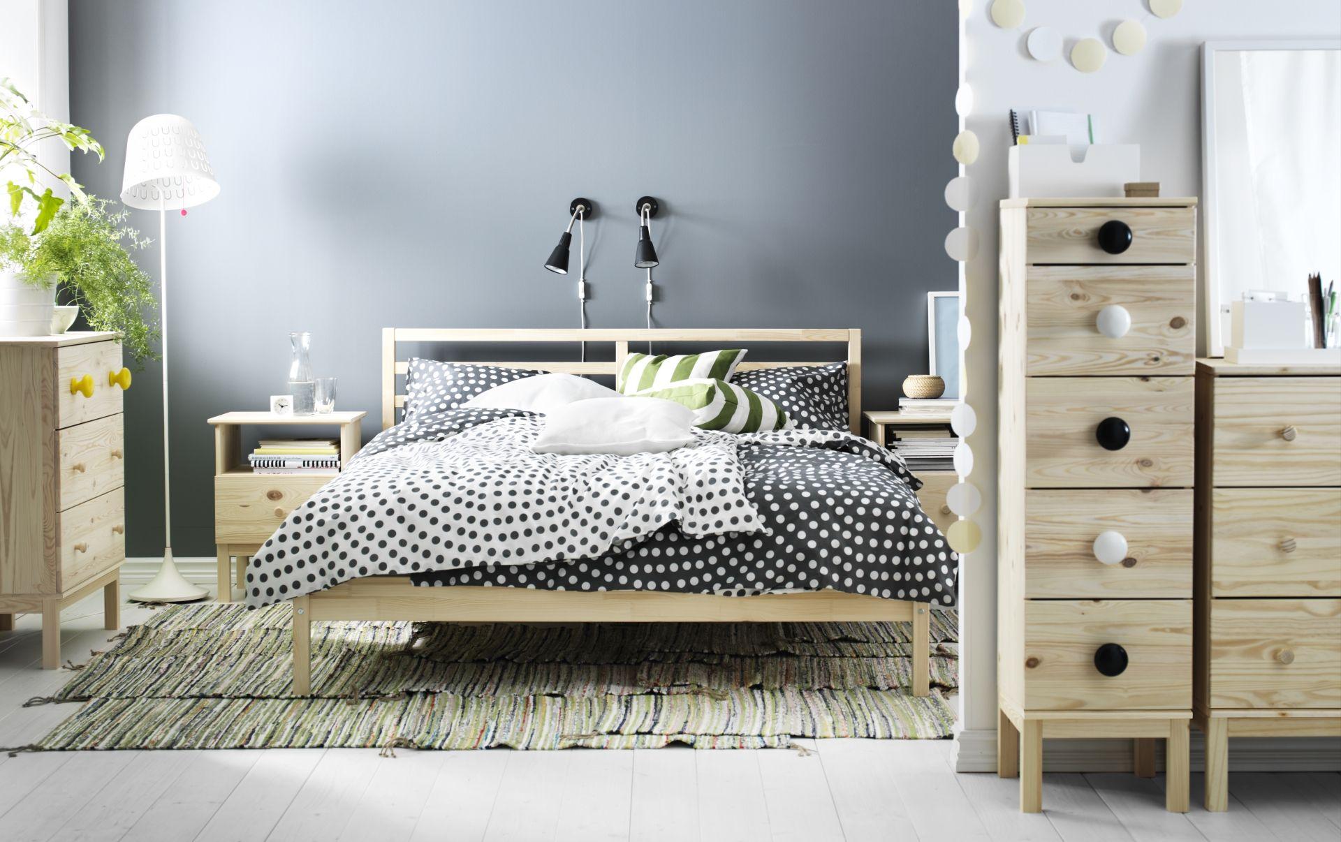 Tarva Bedframe  160X200 Cm, L Nset  Ikea Bedroom