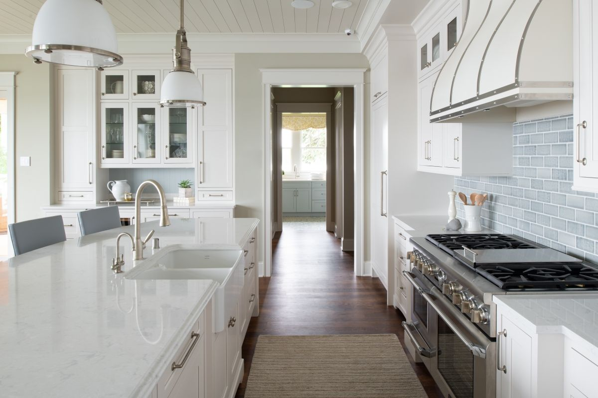 Exploring Painted Cabinetry Finishes From Dura Supreme Kitchen Cabinets In Bathroom Shingle Style Homes White Modern Kitchen