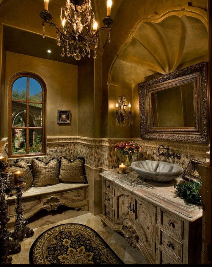 Victorian Style RestRoom