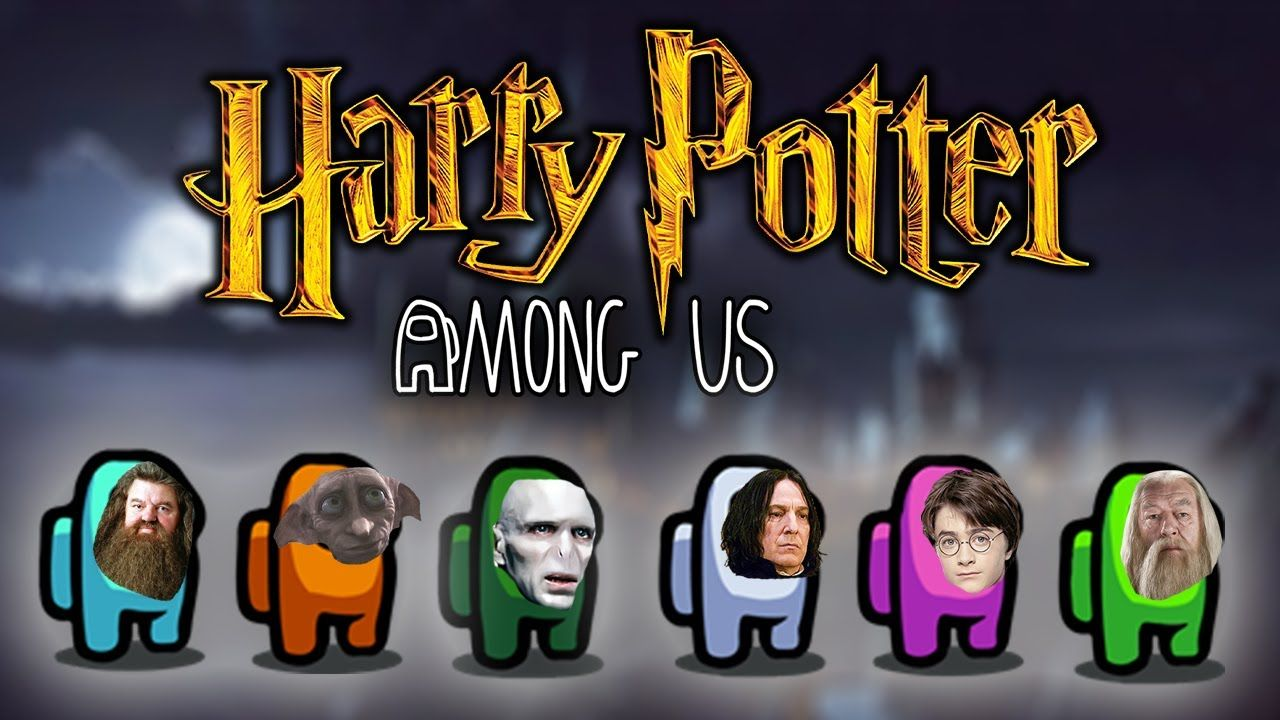 If Harry Potter Characters Played Among Us Youtube Harry Potter Characters Harry Potter Wallpaper Harry Potter
