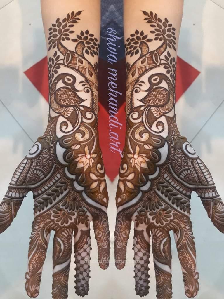 Peacock Full Hand Mehndi Design Full Hand Mehndi Designs Dulhan Mehndi Designs Mehndi Designs