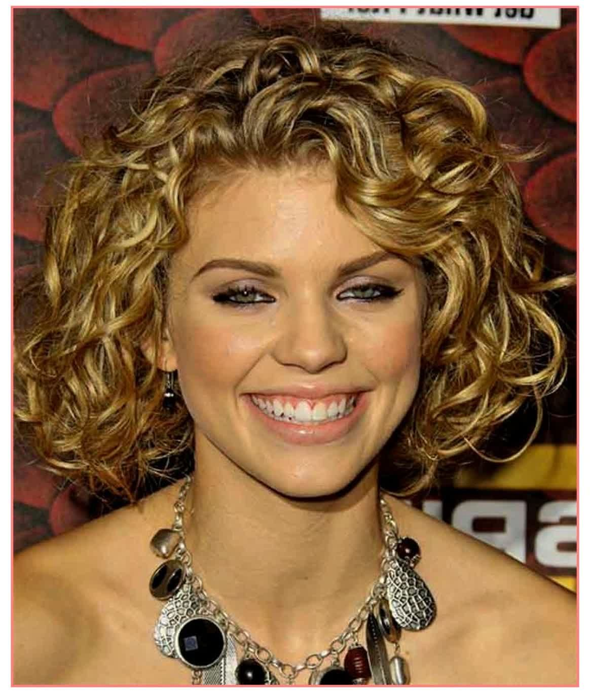 Cute hairstyles medium length hairstyles for curly hair round face