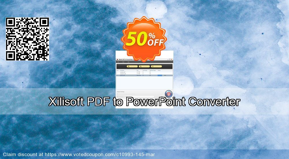 Xilisoft Pdf To Powerpoint Converter Coupon 50 Discount Code Aug