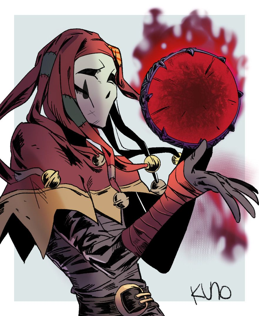 Fantasy Jester Character Art