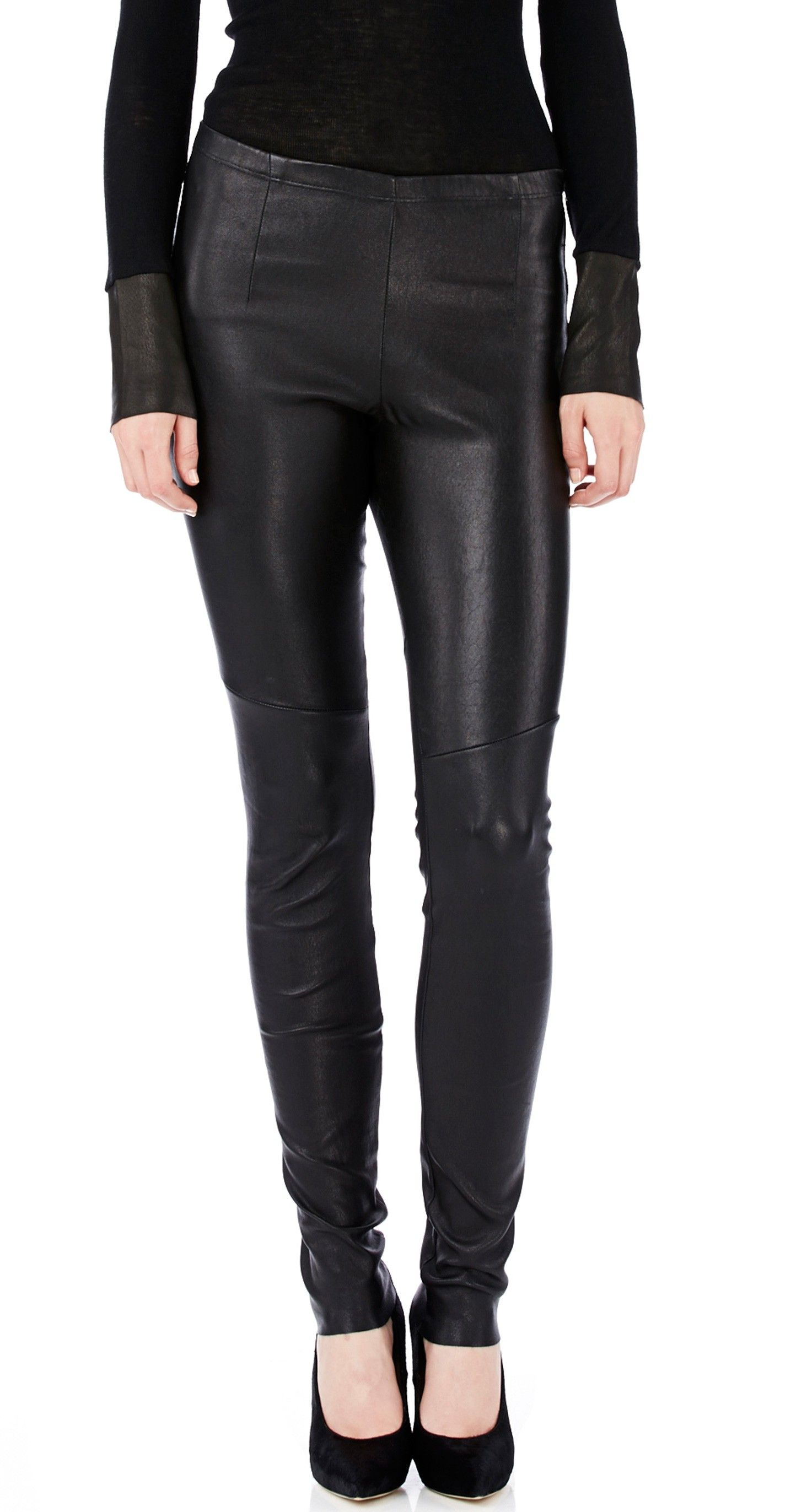 f1142fa9aa STRETCH LEATHER LEGGING | Wear Now | Leather leggings, Leather ...