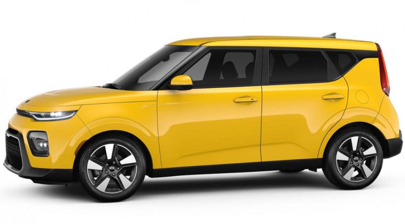 2020 Kia Soul Solar Yellow Exterior In 2020 Kia Soul Kia New Cars