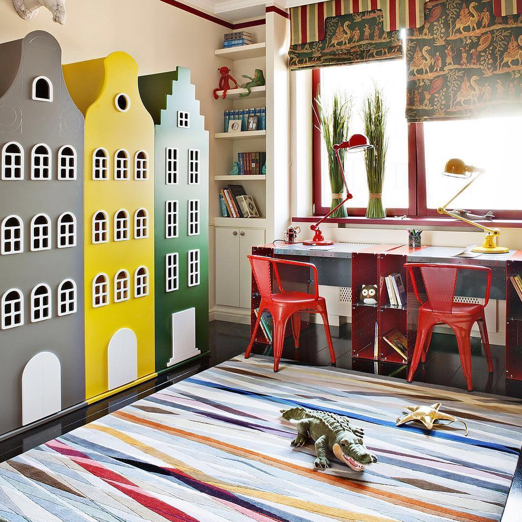 A Kaleidoscope Of Colour A Playful And Vibrant Children S Bedroom