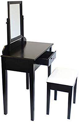 Capri Agtc0010 Chaise Pour Coiffeuse Blanc Meuble Miroir De Chambre A Coucher Amazon Fr Cuisine Maison En 2020 Meuble Miroir Coiffeuse Blanche Chaise