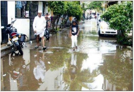 #Pune पाण्याचे तळे !!!