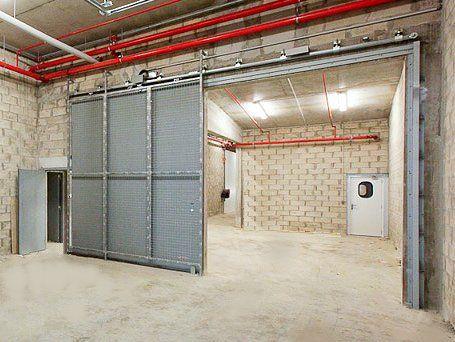 Portes coupe-feu coulissantes - ACH La salle de gym Pinterest Pose - pose de porte coulissante