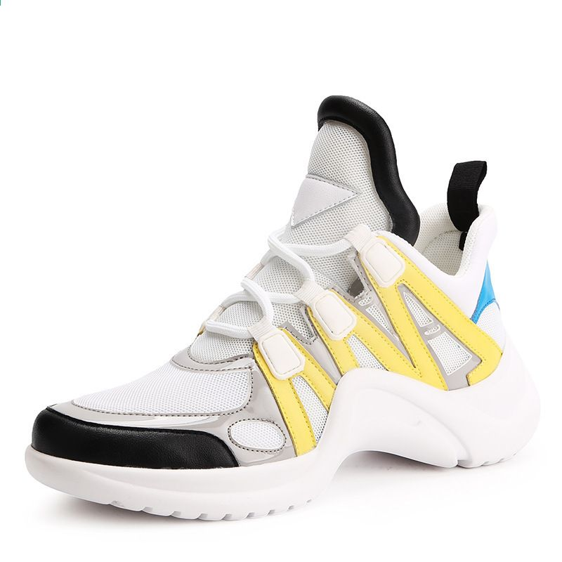 Msfair Sport Run Kobiety Buty Do Biegania Outdoor Athletic Woman Marka Lato Oddychajace Mesh Long Dist Women Platform Shoes Womens Sneakers Walking Shoes Women