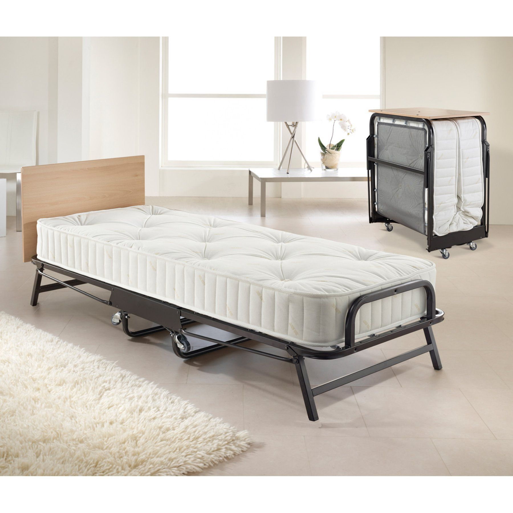 buy online 36f7f bf093 Jay-Be Hospitality Folding Bed with Deep Spring Mattress ...