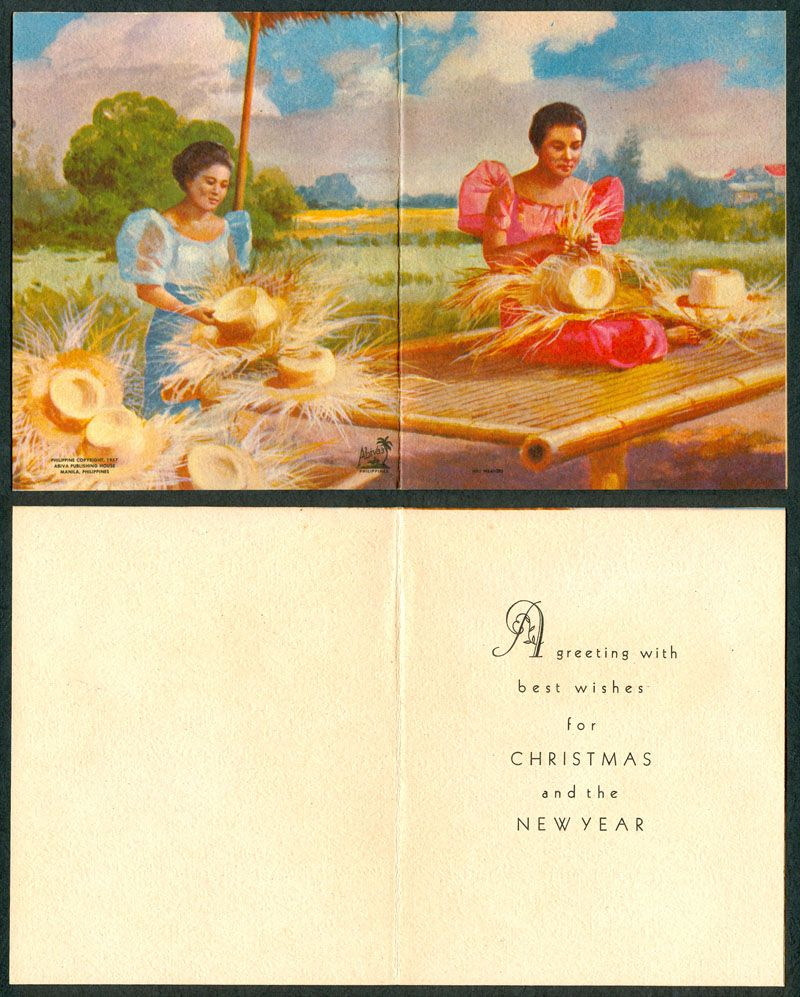 Pinoy kollektor 79 1960s native philippine christmas cards 1960s native philippine christmas cards filipino recipes pinterest pinoy christmas cards and philippines kristyandbryce Choice Image