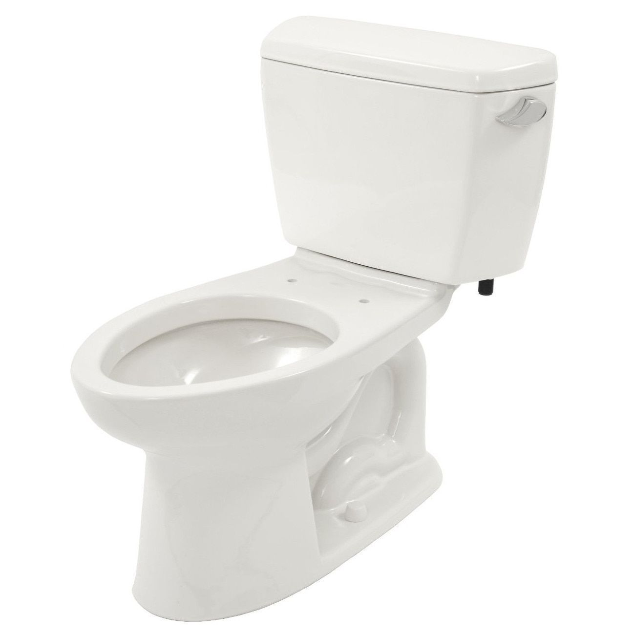 Toto Drake 2-piece Eco Elongated Ada Toilet with Right-Hand Trip ...