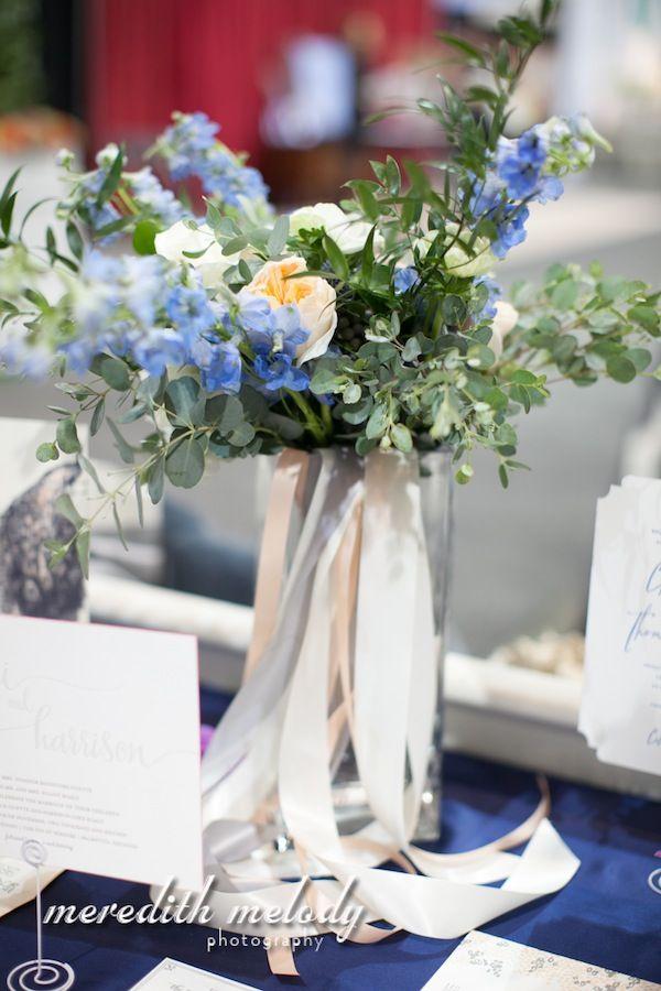 Ленты в вазы