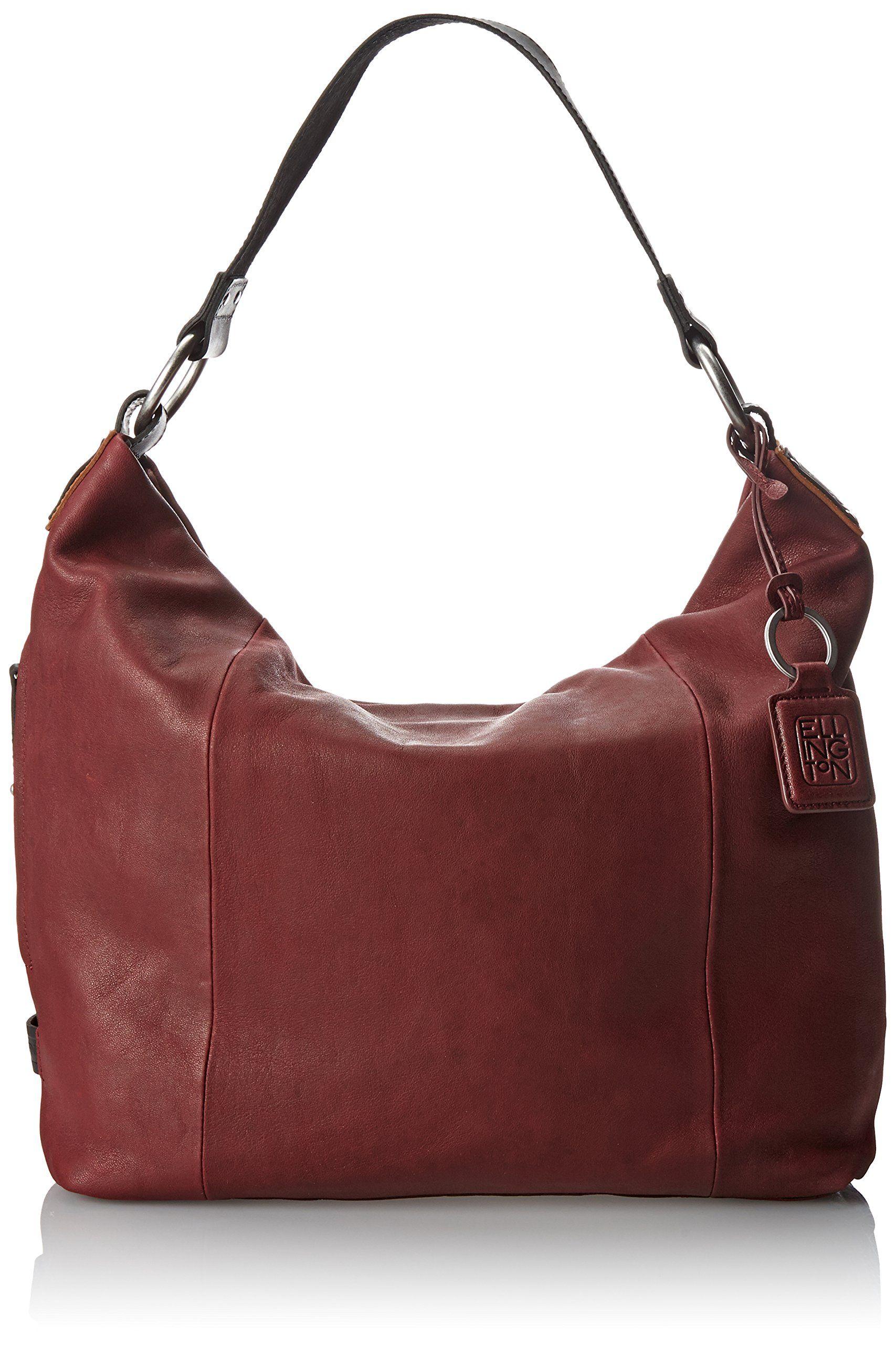 3e6b402f607f4e ellington Sadie Hobo Shoulder Bag, Light Gray, One Size: Handbags:  Amazon.com