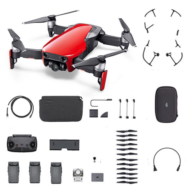 fe4de8748c5 DJI Mavic Air Fly More Combo High-end Flight Performance Drone Flame Red