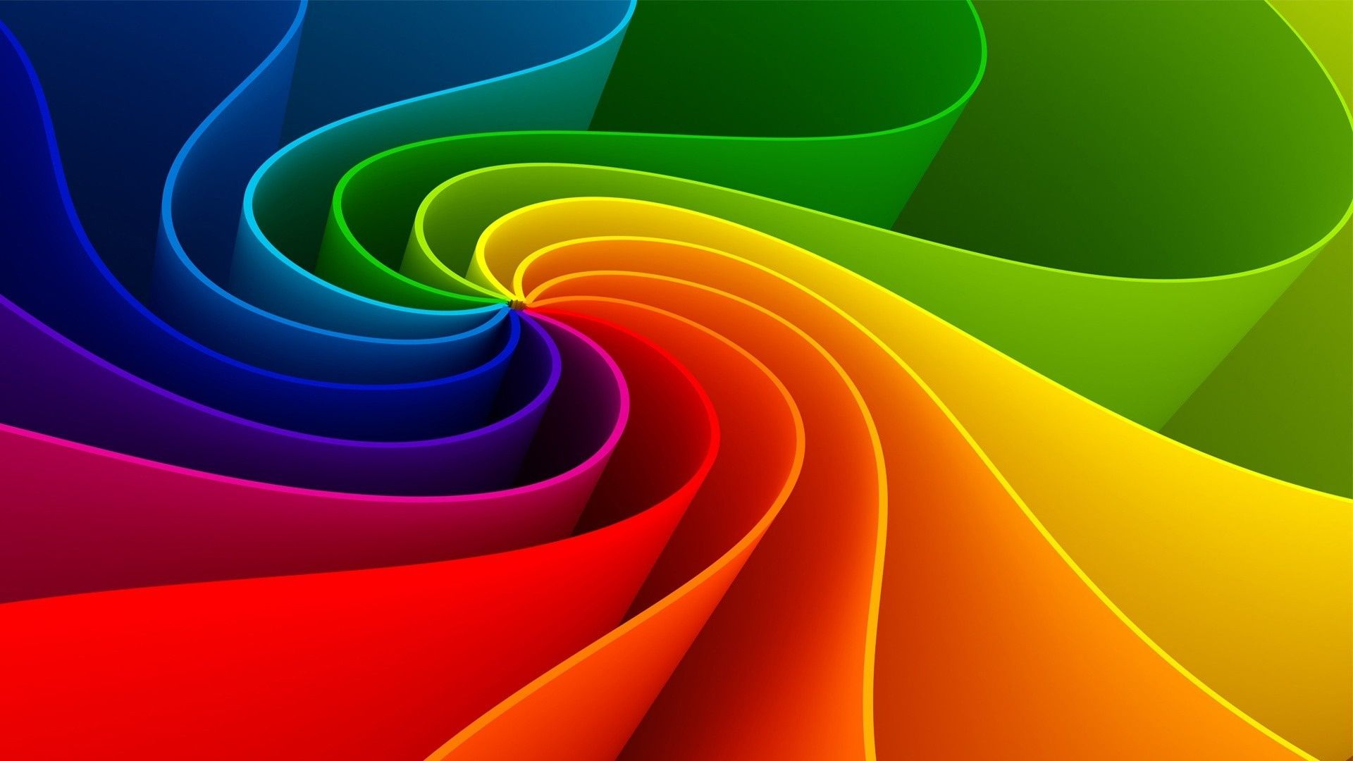 Abstract Wallpaper Rainbow Wallpaper Rainbow Colors Colorful