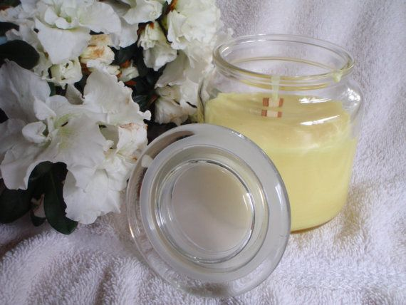 Lemongrass Scented Soy Candle 12 oz. by CherryOakCandles on Etsy, $15.99